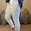 Thumbnail: White Magic Plain Super Stretch Crushed Trousers fitting 8-18