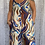 Thumbnail: Shades of Blue linen jumpsuit, fitting sizes 8-14