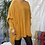 Thumbnail: Mustard diamanté poncho style jumper, fitting up to a 24.    5559