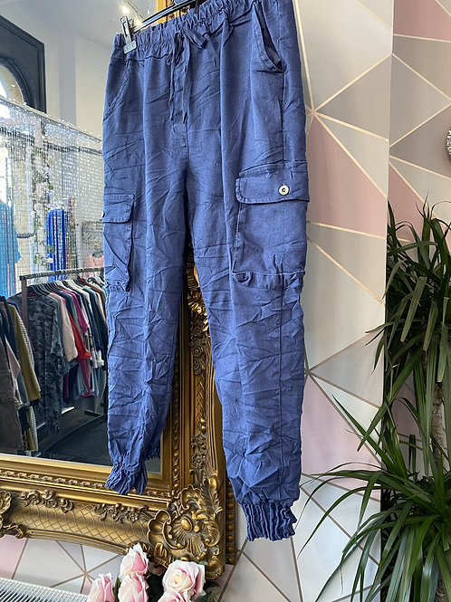 Blue magic cargo pants fitting up to size 18