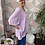 Thumbnail: Lilac button top/blouse, fitting up to a size 24