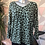 Thumbnail: Sage leopard print top, fitting sizes 10-16.      1779