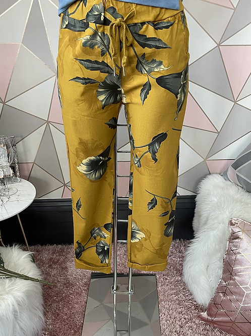 Mustard Wow, Magic Joggers Fitting Up To A Size 20