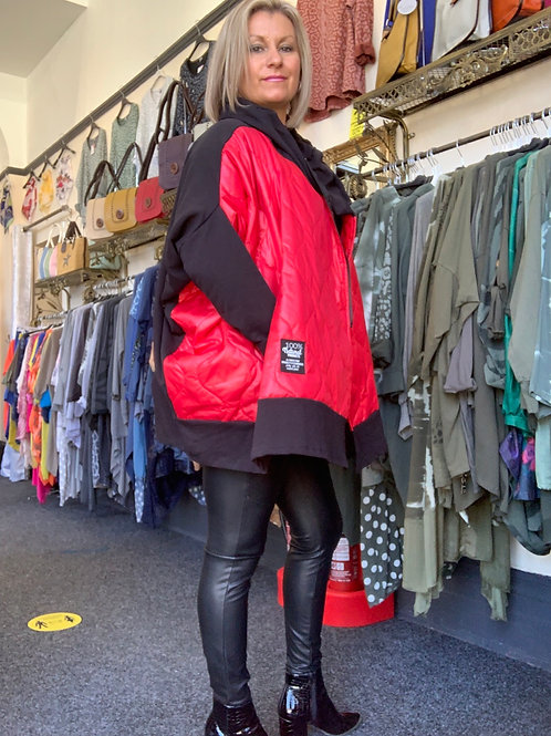 Red Gucci inspired jacket fitting up to a size 24