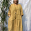 Thumbnail: Mustard Terry dress, fitting up to a size 22.    1510