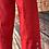 Thumbnail: Red Capri pants size 10