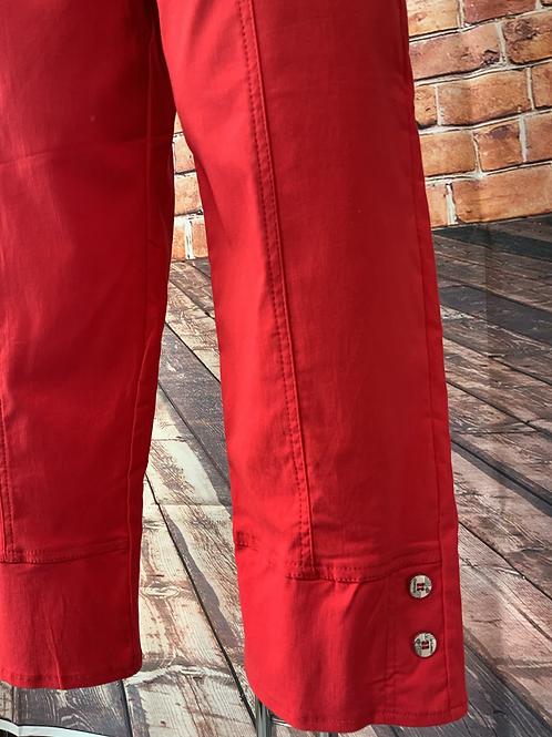 Red Capri pants size 10