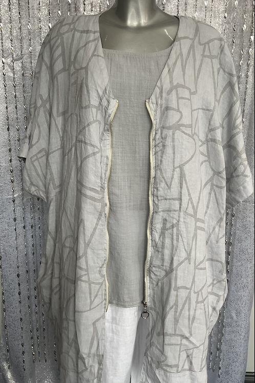 Grey  Ivy Jacket fitting up to a size 22