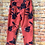 Thumbnail: Coral 'wow' pants. Fits up to size 16