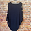 Thumbnail: Navy knitted poncho