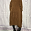 Thumbnail: Caramel chenille high low tunic fitting up to a size 20