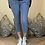 Thumbnail: Denim  wash Magic Plain Super Stretch Crushed Trousers fitting 8-18