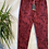 Thumbnail: Wine snake print magic joggers, fitting up to a size 20.   0901