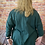 Thumbnail: Green quirky elasticated top, fitting up to a size 22