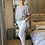 Thumbnail: White Sugar Magic  Stretch Trousers fitting 10-20