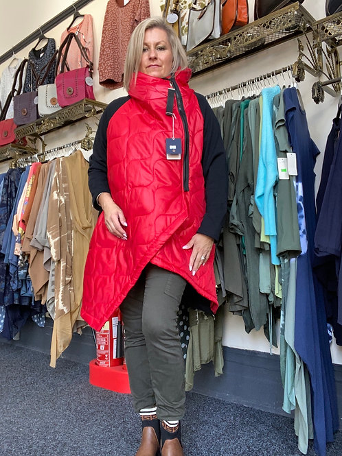 Red Gucci inspired coat fitting up to a size 20