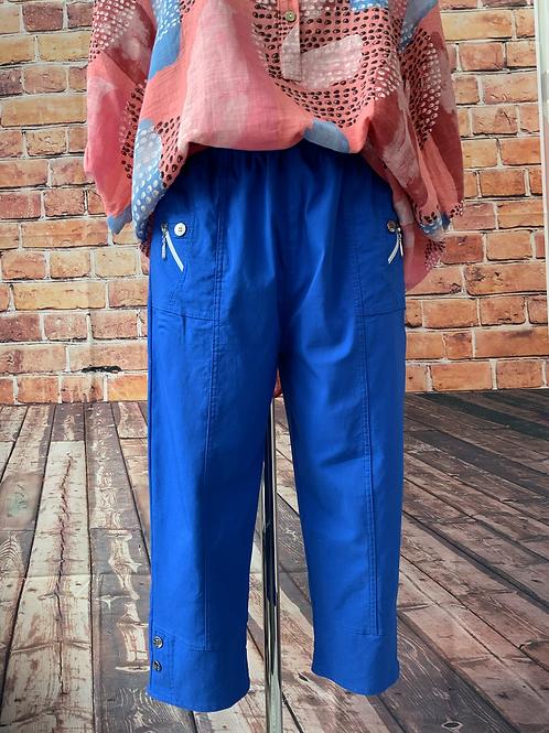 Royal blue Capri pants size 12,14,16,22