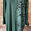 Thumbnail: Emerald panelled animal print top, fits sizes 12-22