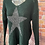 Thumbnail: Forest chunky knit star jumper, fits sizes up to 14