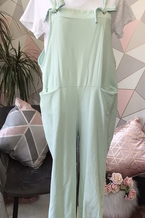 Mint Italian Front Pockets Cotton  Dungaree