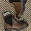 Thumbnail: Fendi inspired Brown ankle boots   Size 3 only