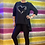 Thumbnail: GIGI hearts and stars high low top fitting up to a size 16