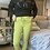 Thumbnail: Lime cargo Magic  Stretch Crushed Trousers fitting 8-18