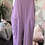 Thumbnail: Lilac Italian Front Pockets Cotton  Dungaree