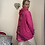 Thumbnail: Cerise  hooded quirky back Top fitting up to a size 22