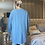 Thumbnail: Blue AMORE tunic fitting up to a size 18