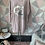 Thumbnail: Blush Chanel inspired drip sweat top fitting up to a size 18