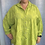 Thumbnail: Lime Broidery Anglaise Shirt, fitting up to a size 24
