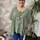 Thumbnail: Khaki button top/blouse, fitting up to a size 24