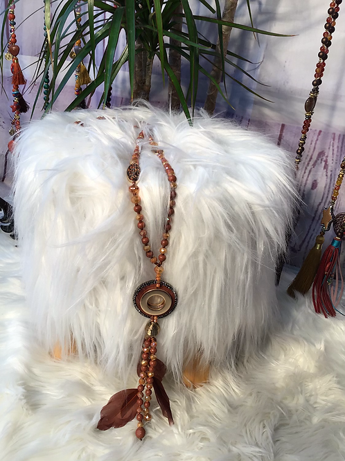 Feather Tassel pendant