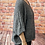 Thumbnail: Charcoal slouchy teddy jumper, fitting from a 12 to 20