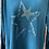 Thumbnail: Teal Star in a Star soft knit jumper, fits sizes 12-18