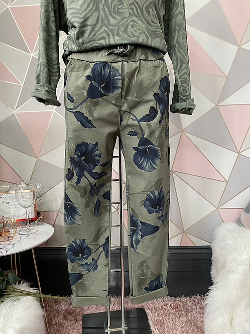 Khaki  Wow, Magic Joggers Fitting Up To A Size 20