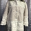 Thumbnail: Cream faux fur and teddy coat, fitting up to a size 18