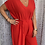 Thumbnail: Red Jumpsuit, fitting sizes 10-18