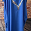 Thumbnail: Royal Blue Foil Heart  Dress Fitting up to a size 24. 009