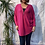 Thumbnail: Cerise Super soft zip jumper fitting up to a size 20.    161102