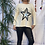 Thumbnail: Winter White starry jumper, fitting sizes 8-16.    12115