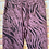 Thumbnail: Berry Tiger print Magic  Stretch Trousers fitting 8-16