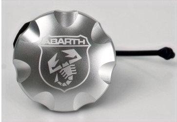 Bouchon d'essence avec logo Abarth