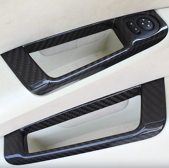 Couvercle de poignée de porte intérieure 595 carbone