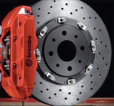 Disques de frein avant flottants pour Abarth système amplifié Brembo