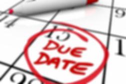 IRD Due Dates