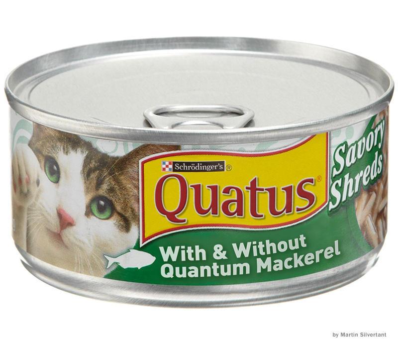 Quantum cat food can