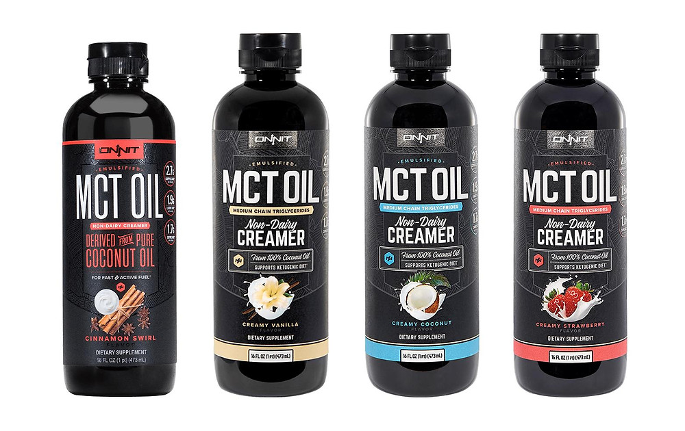 MCT oil products for a therapeutic diet