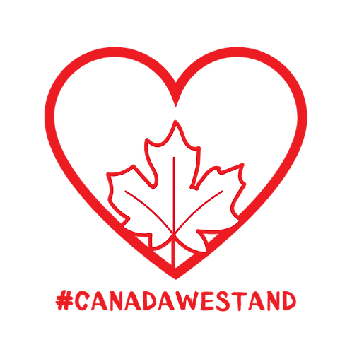 #CANADAWESTAND Window Decal